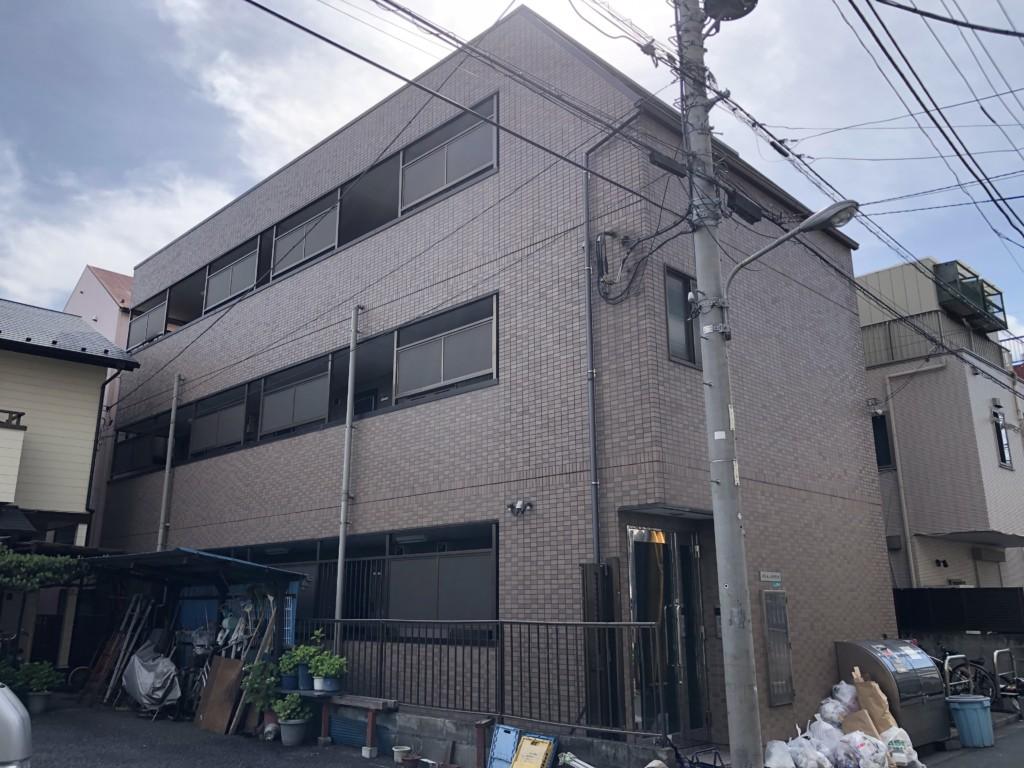 ロープアクセス|漏水補修工事|東京都江戸川区|マンション