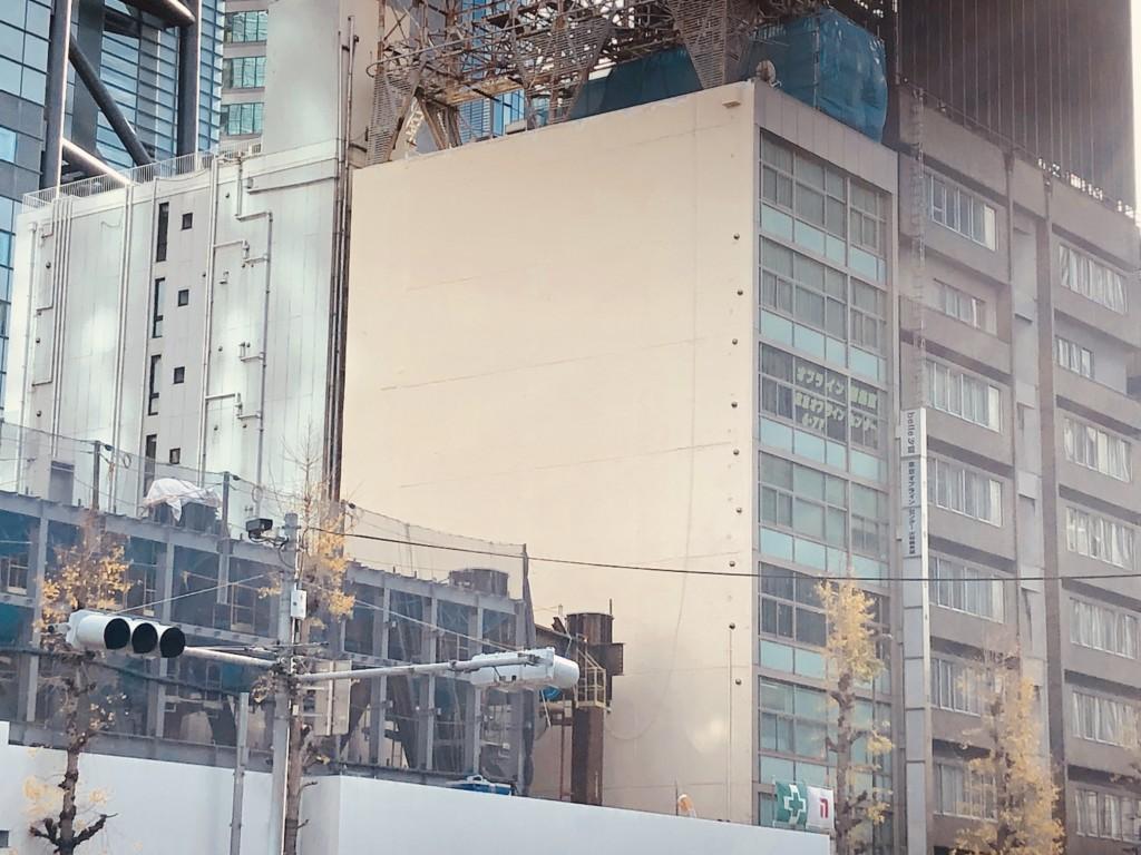 ロープアクセス|東京都港区|ビル