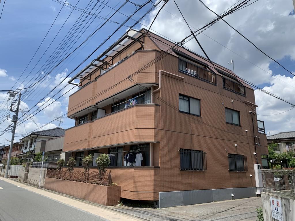 鉄部改修工事|東京都武蔵野市|マンション