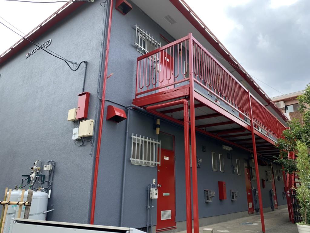 外壁・屋根塗装・シーリング|東京都府中市|アパート