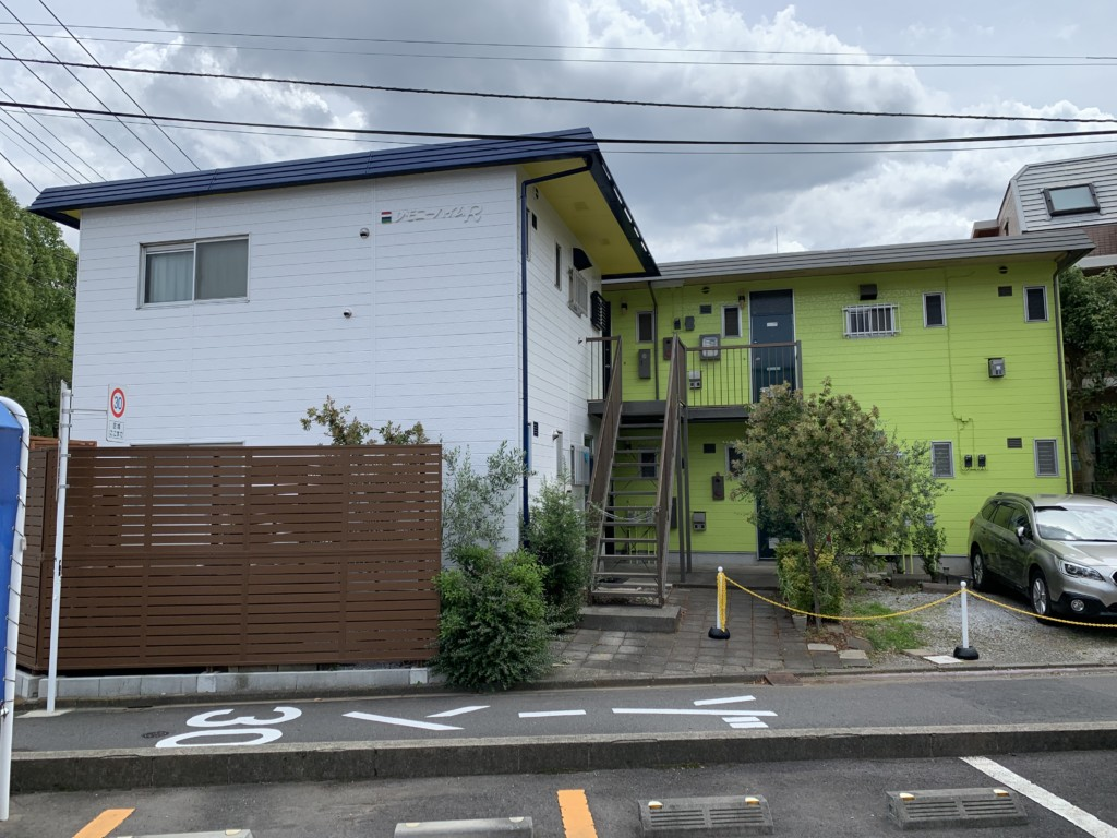 外壁工事|東京都府中市|アパート