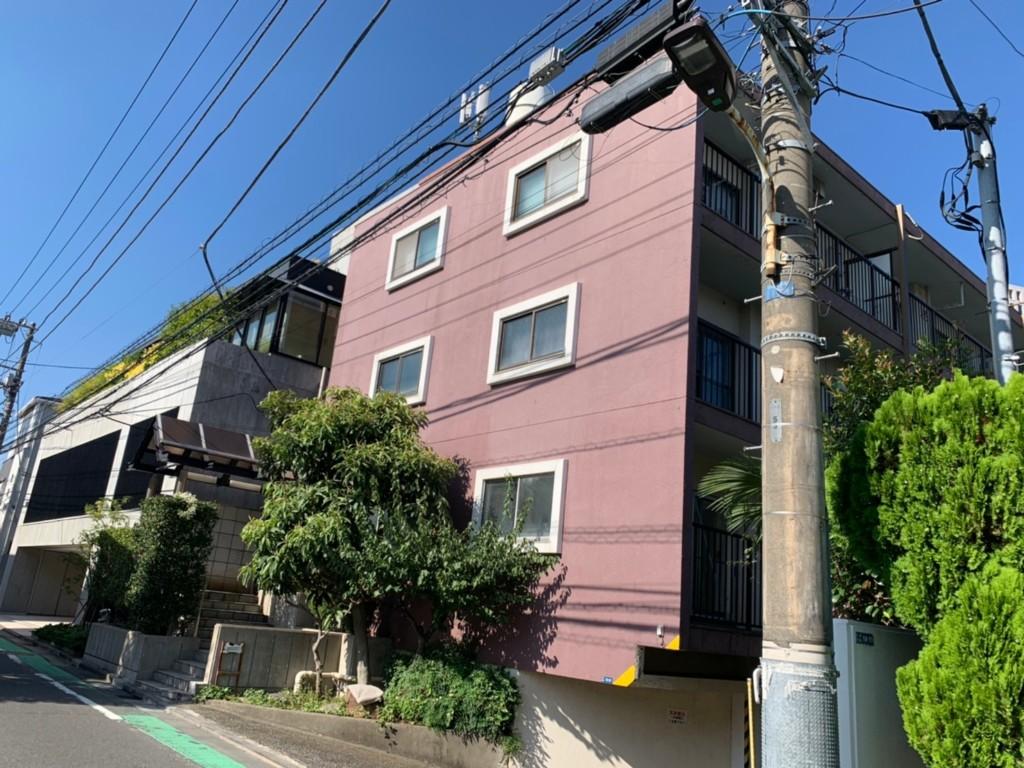 ロープアクセス漏水工事|東京都港区|マンション