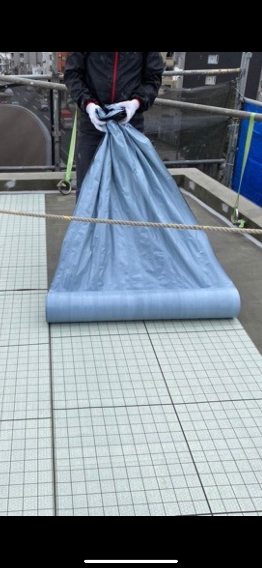 東京都世田谷区 ウレタン防水通気緩衝工法
