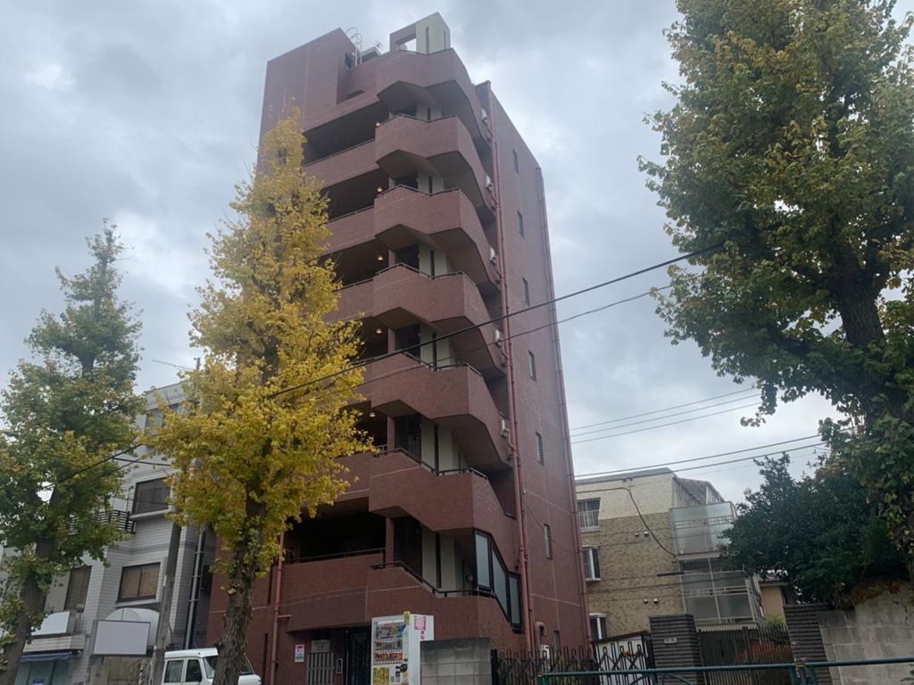 防水・シーリング工事|東京都渋谷区笹塚|Gマンション