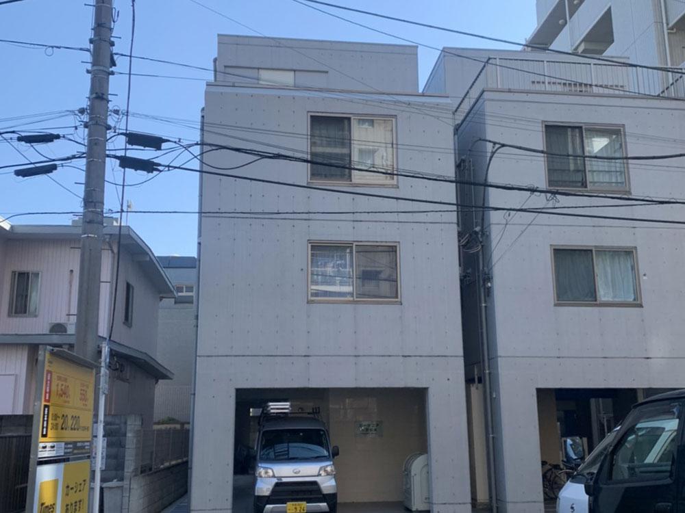 ロープアクセス|漏水工事|東京都中野区|Gマンション