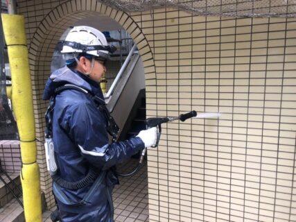 東京都調布市 マンション外壁工事