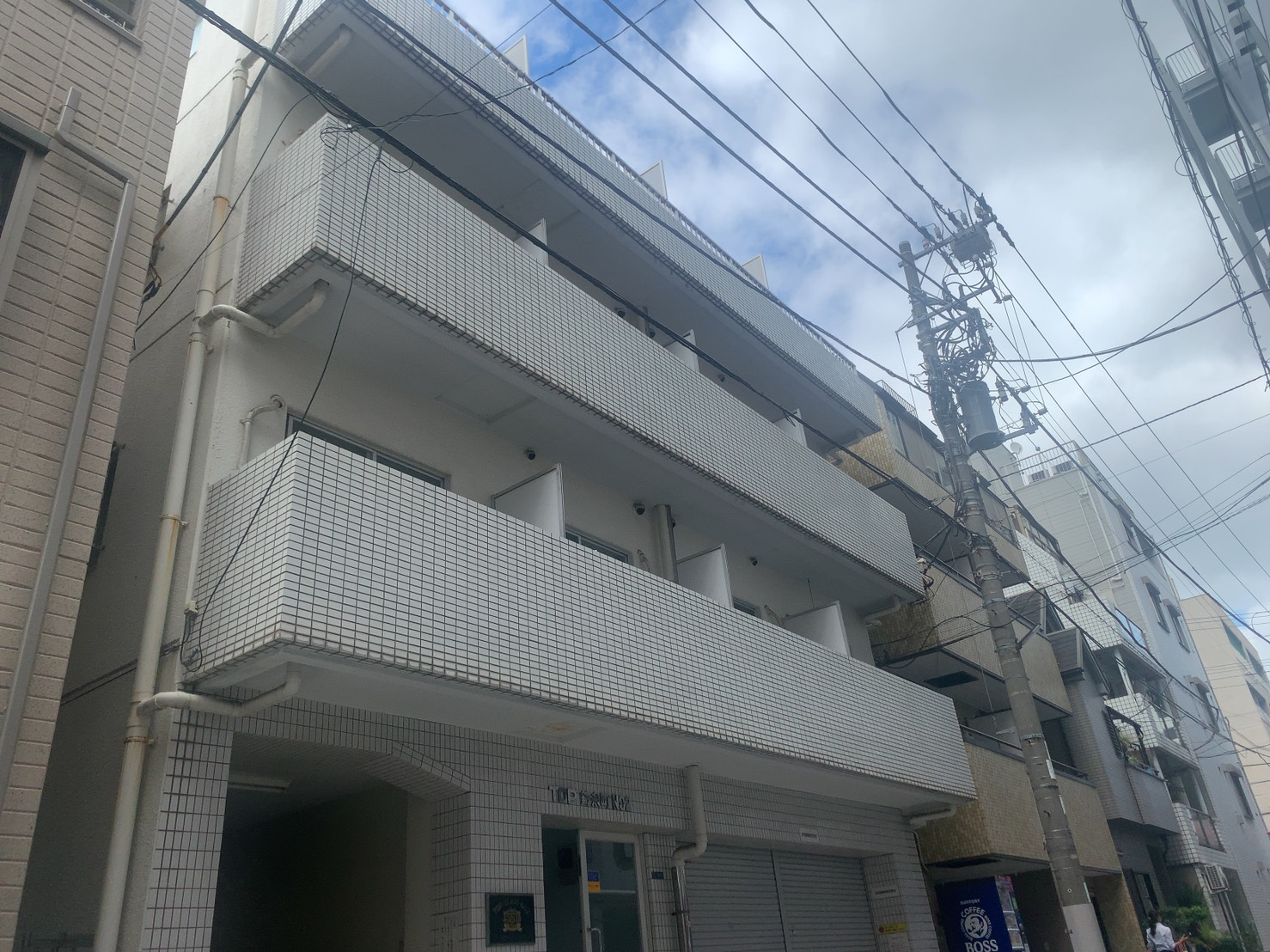 ロープアクセス|防水工事|東京都墨田区|Tマンション