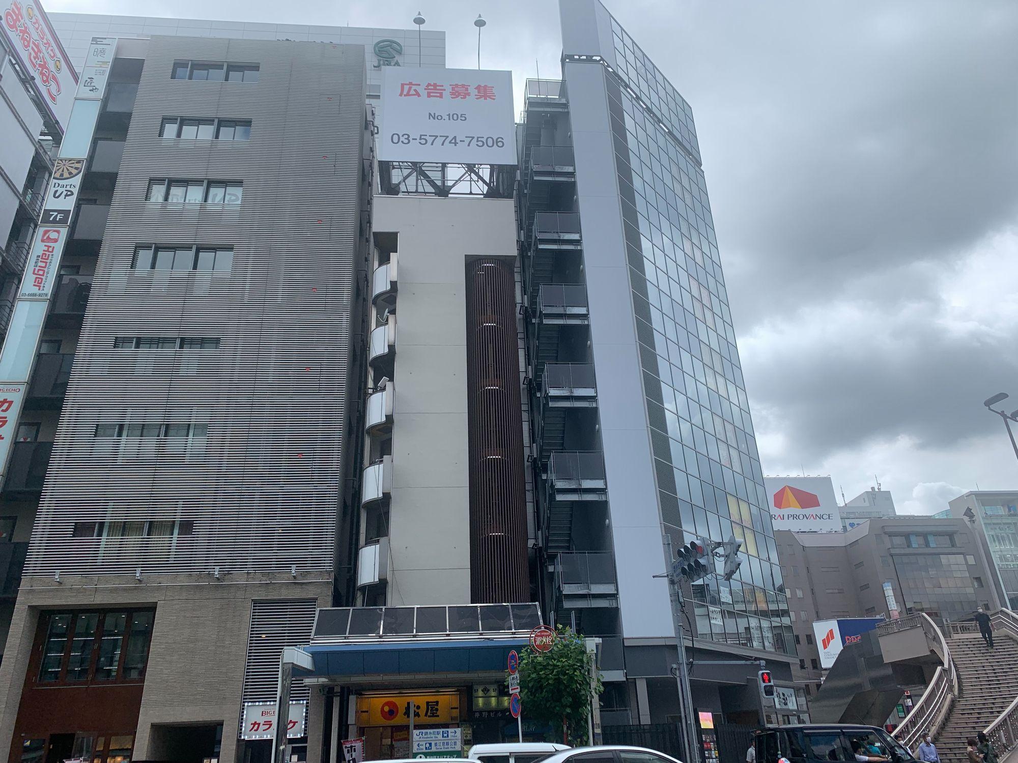 ロープアクセス|塗装工事|東京都墨田区|Iビル