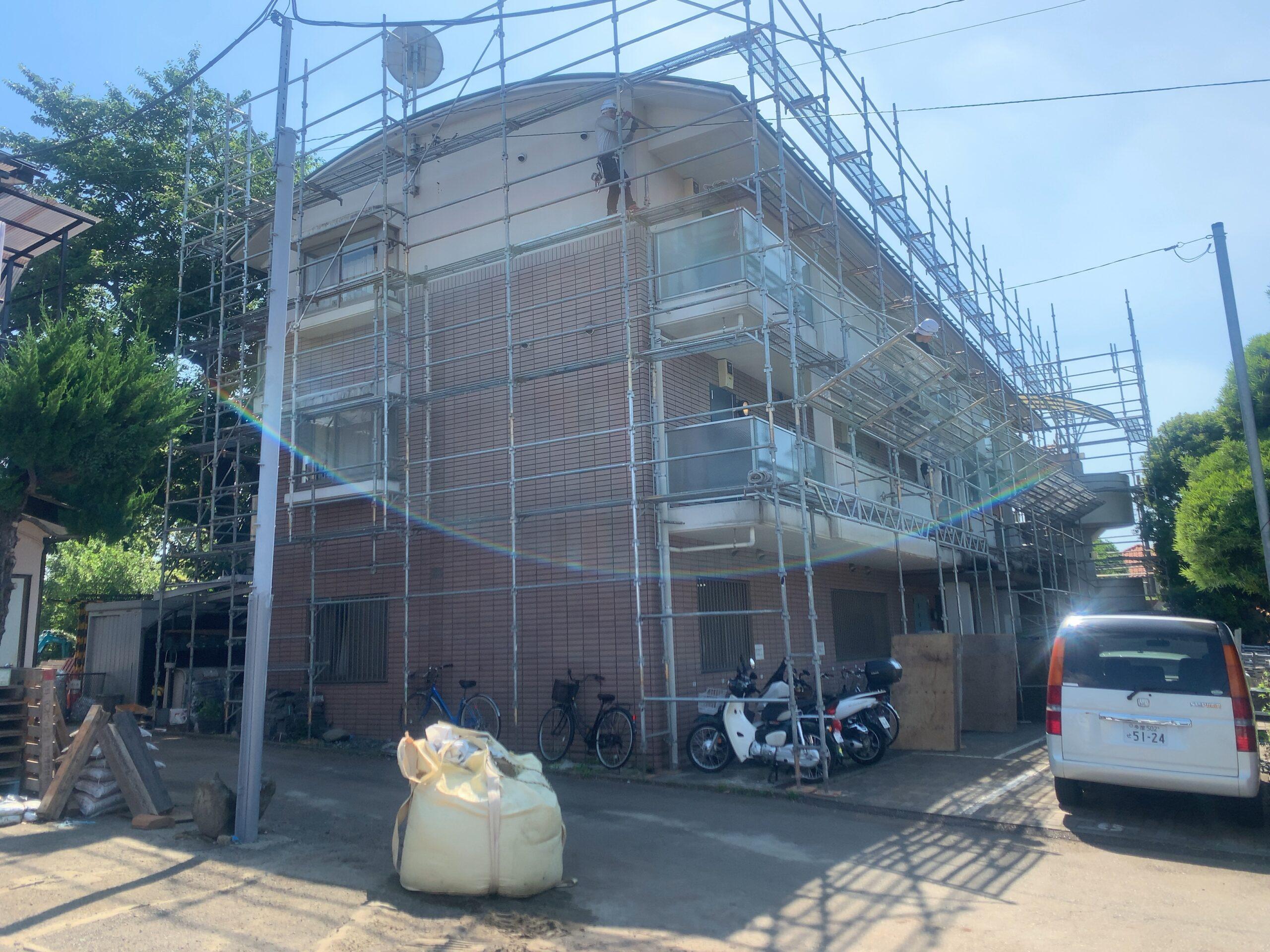 東京都調布市大規模改修工事
