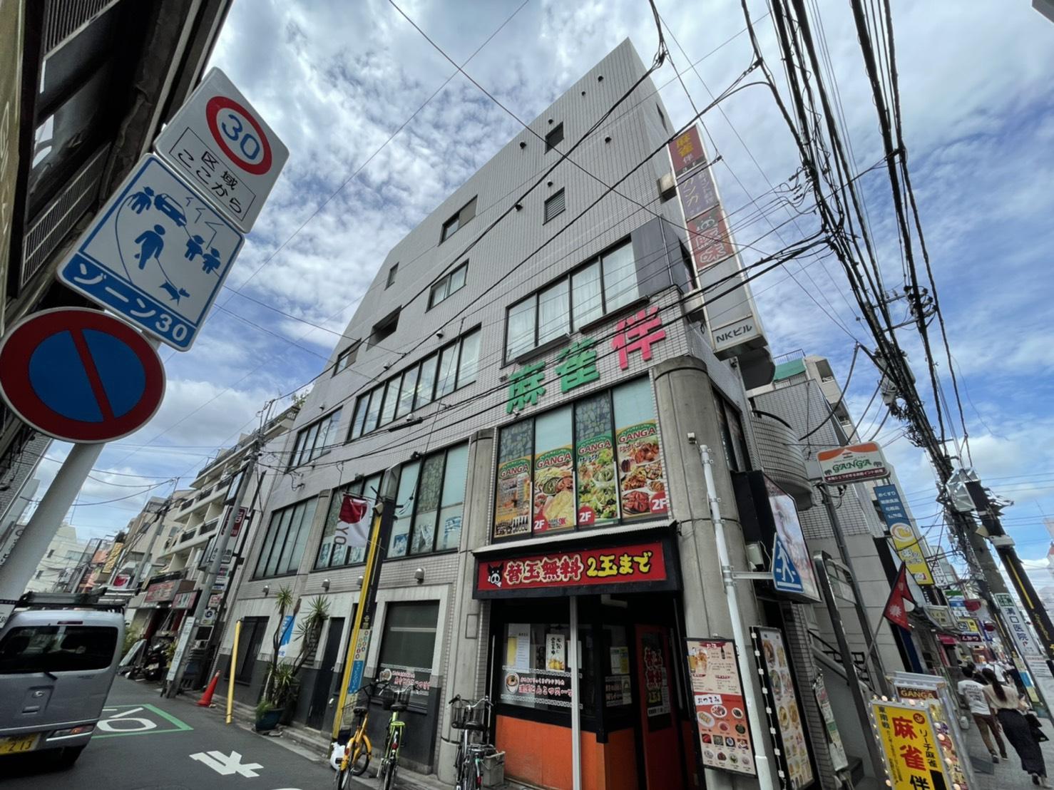 ロープアクセスシール工事|東京都中野区|Nマンション